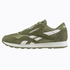 Reebok Classic Nylon - Primary School Girls Green/White Sneakers (973SDEUW)